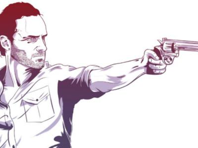 The Walking Dead brush rick thewalkingdead drawing artwork digital sketch illustration art