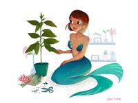Botancial Mermaid