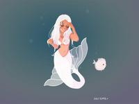 Ibiza mermaid