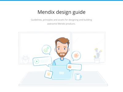 Mendix design guide illustration design guide guidelines ui mendix ux