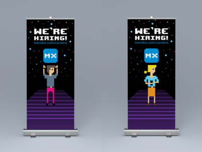 React Amsterdam Rollup Banners