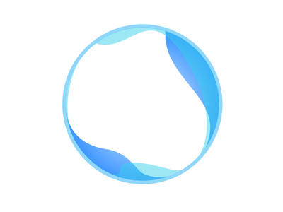 Unselected artwork wave circle logo