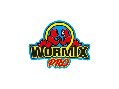 Wormix branding logotype logobytroyanski logo design team sport fitness bodybuilder fishing emblem strong logo illustration food leotroyanski design worms