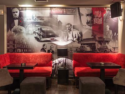 Cosa Nostra Cafe wallpaper mafia nostra cosa collage cafe