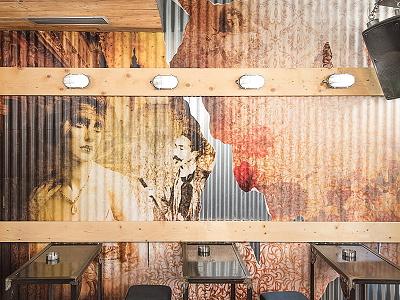 Deseo Bar belle epoque deseo wallpaper collage club bar