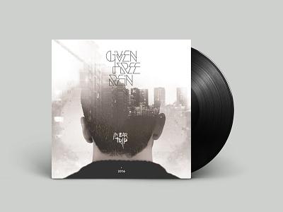 Given Free Rein - In-Ear Trip / Album Cover vinyl in-ear trip music given free rein gfr andrew kouretas rock album cover