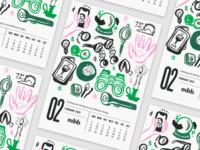 2020 Vision Calendar - February