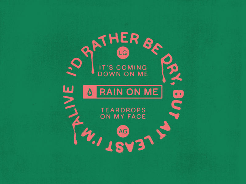 Rain On Me, Tsunami