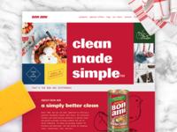Bon Ami Site Design
