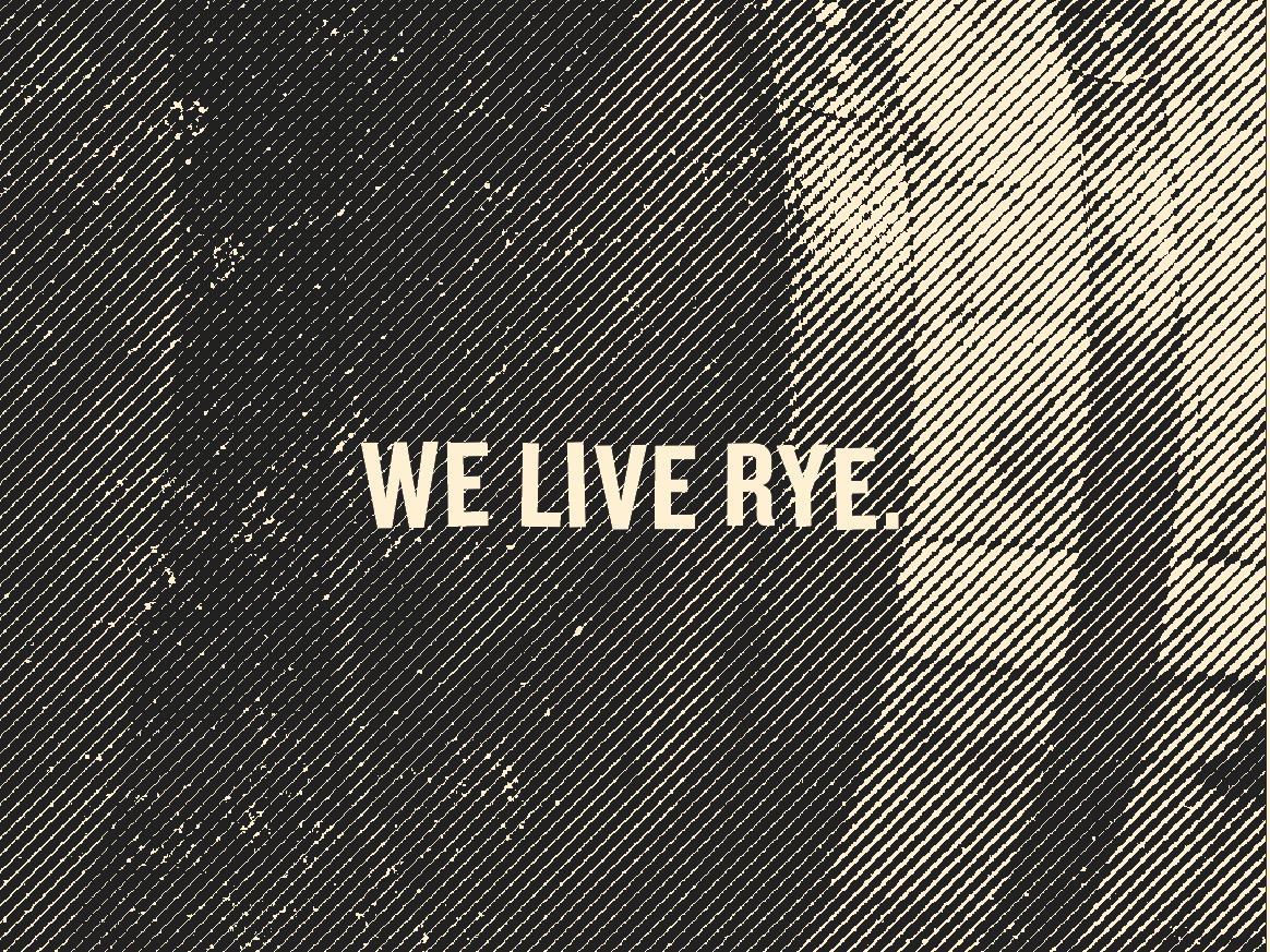 Rye 101 barrel etching type whiskey rye