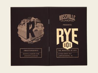 Rye 101 Cover