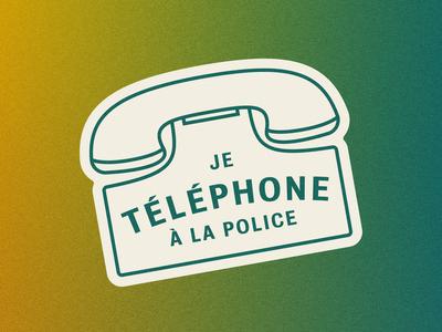 Je Téléphone à la Police