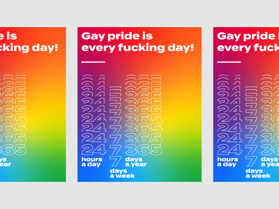 Gay Pride is Every Day