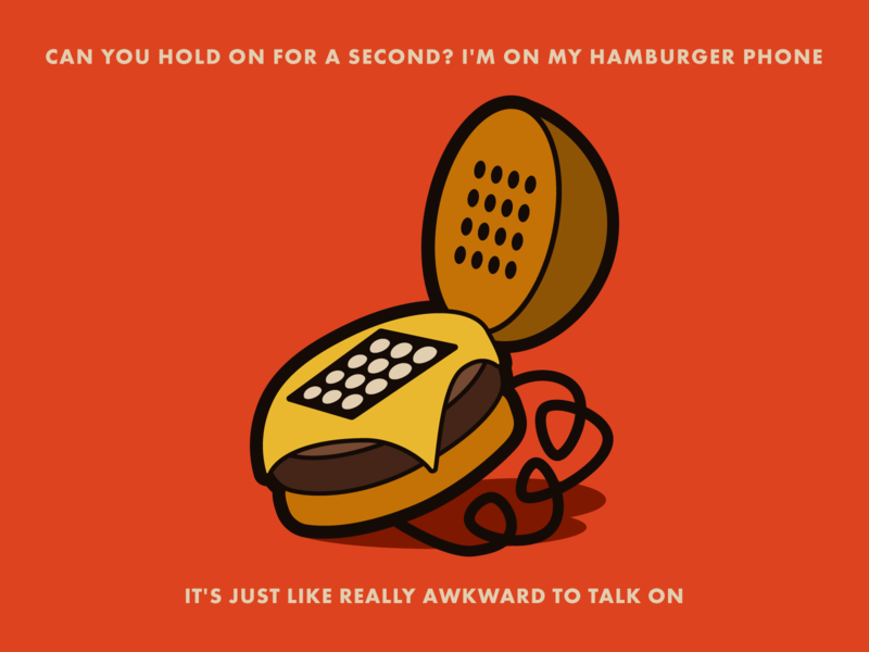 Juno - Warmup #20 badge vector design branding phone illustration icon burger burger phone juno dribbbleweeklywarmup