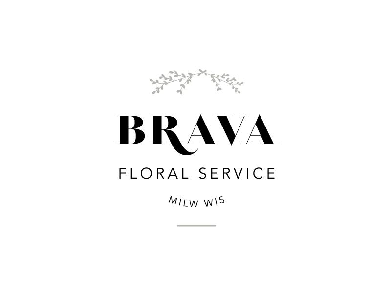 Brava Floral Service logo