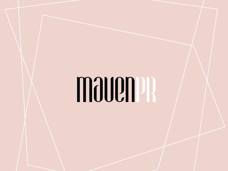 Maven PR branding logo