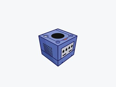 GameCube 3d vector illustration gamecube