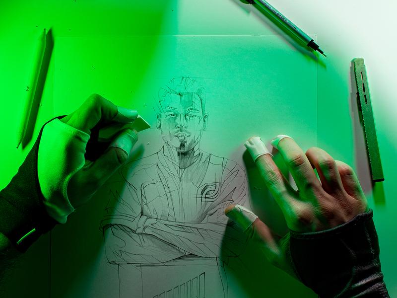 MTN DEW® Gamefuel mtndew pepsico drawing illustration