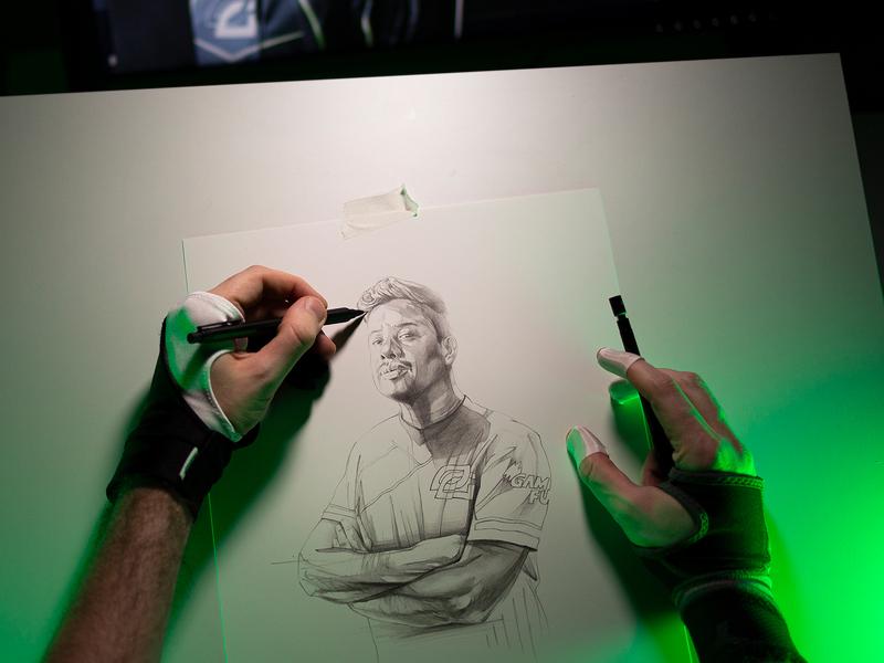 MTN DEW® Gamefuel teamoptic illustration drawing pepsico
