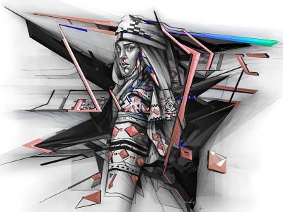 ORIGIN graphics adobe design pencil drawing illustration