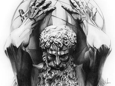 Atlas for Derwent statue graphite drawing black atlas pencils derwent