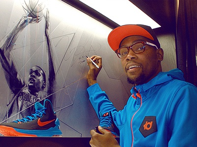 Kevin Durant Signing alexis marcou kevin durant signing house of hoops footlocker nike