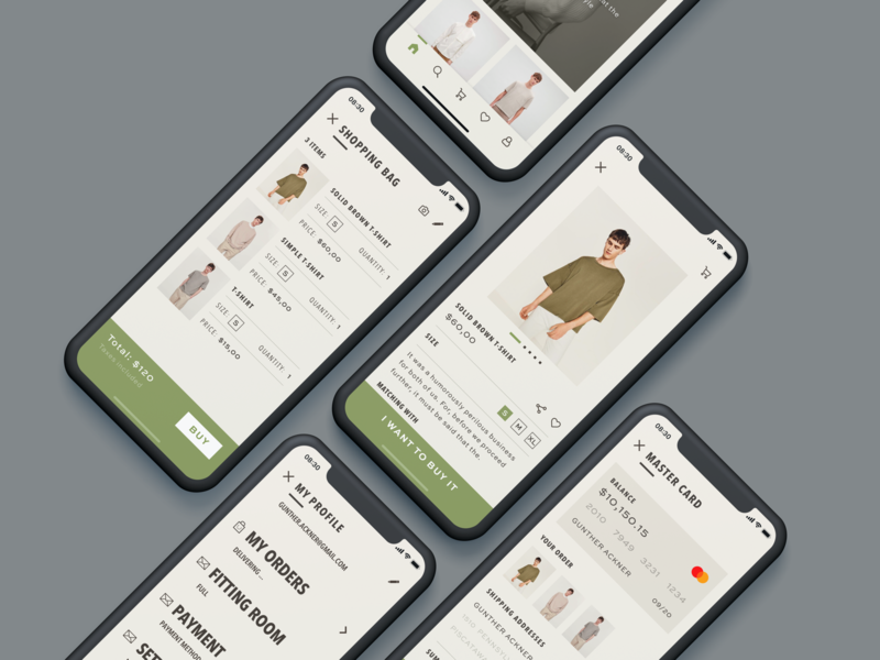 Fashion Ecommerce App mobile app mobile app product ux ui fashion design ecommerce design ecommerce app fashion app