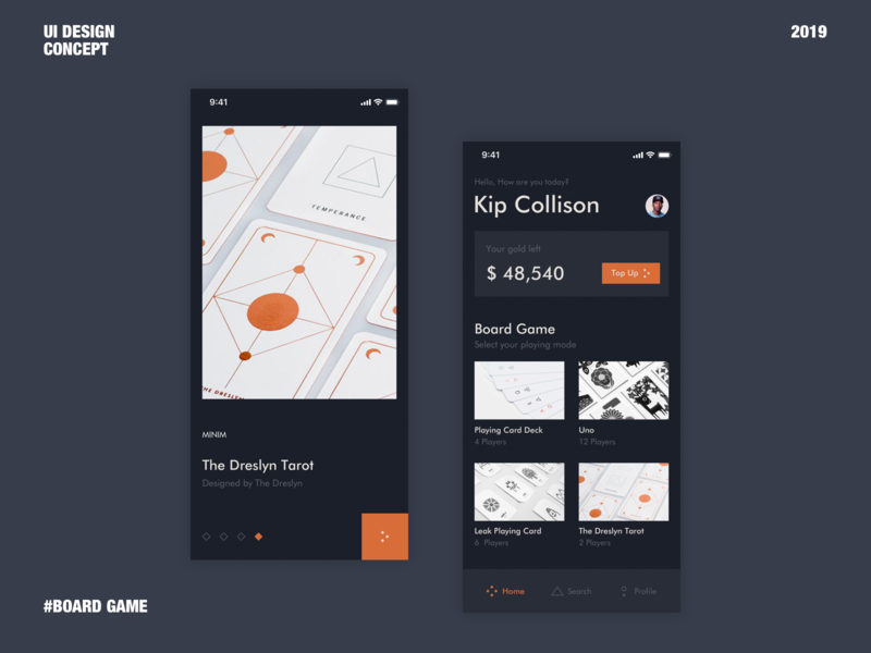 Board Game App Concept minimal ui minimal app board ui board ui board game uidesign interaction design ui dribbble web design web daily 100 challenge daily ui