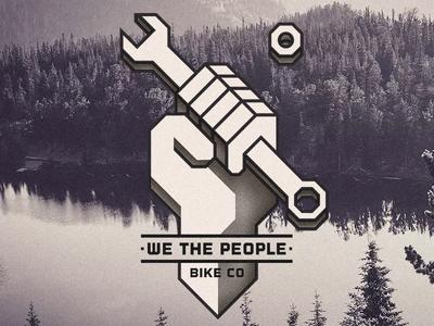 We the People Bike Co. bmx fashion shirtdesign shirt