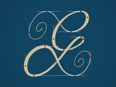 G for 36DaysOfType bezier illustration calligraphy typography lettering