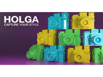 Holga- Capture Your Style arnold renderer maya 3d cg