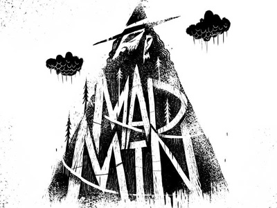 MAD MTN logo sketch lore mountaineer mad mountain