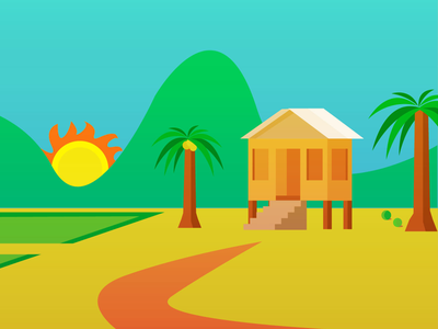 kampung designs themes templates and downloadable graphic elements on dribbble downloadable graphic elements on dribbble