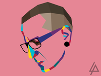 RIP Chester wpap portrait bennington voice sad rip park linkin chester