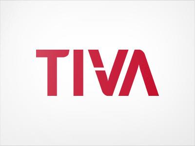 TIVA logo logo tiva brand identity manufacturing typography lettering logotype graphic design
