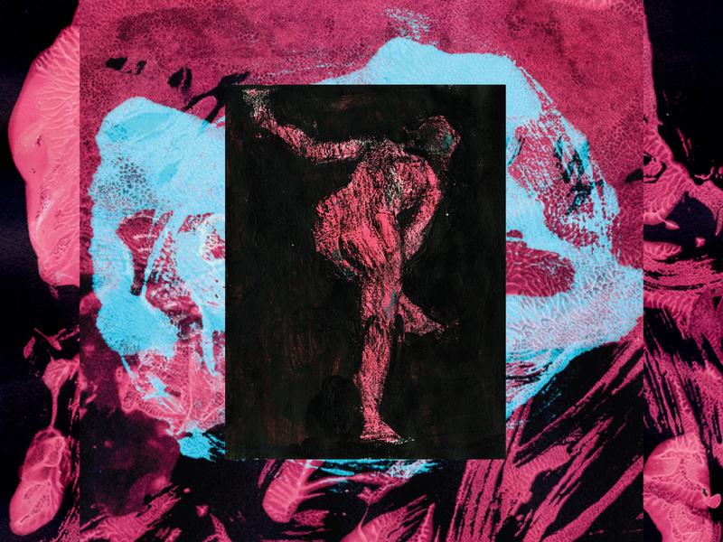 Pink girl acrylics pink study woman girl