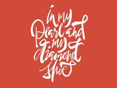 Inmypearl harlem river kevin morby animation video lyrics brush calligraphy pentel brush calligraphy
