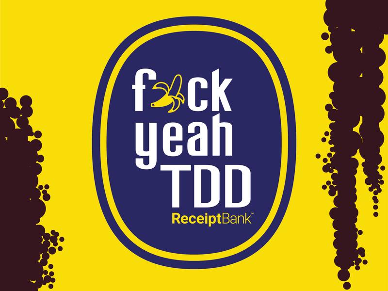 Banana Sticker yellow banana receipt bank design sticker
