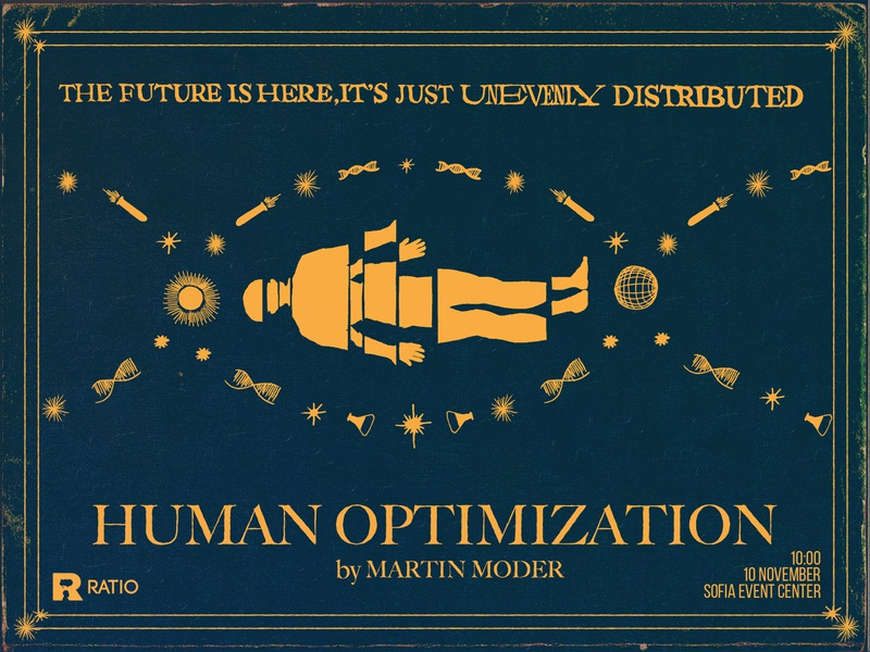 Human Optimization dna science martin moder human optimization optimization human ratio