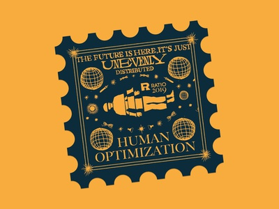 Human Optimization sticker