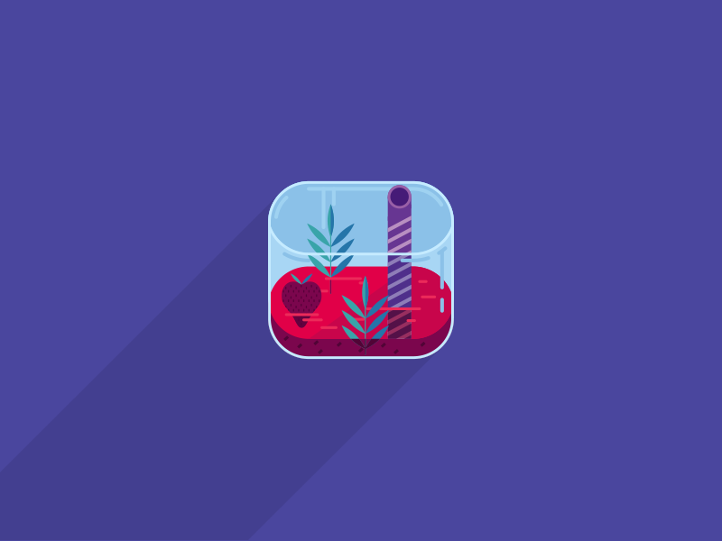 Daily Ui #005 smoothie icon illustration app daily ui