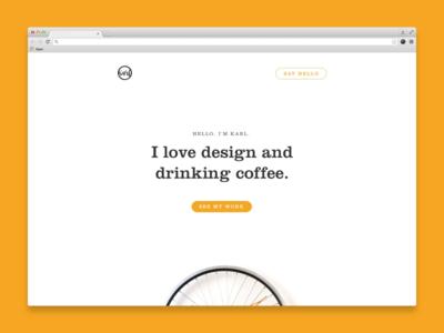 Home website ux ui responsive portfolio mobile designer