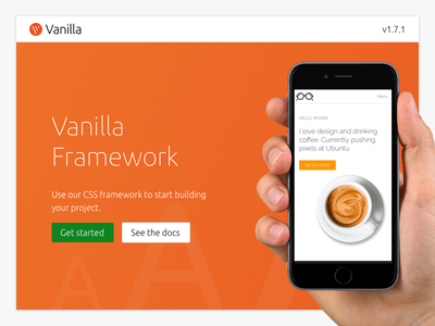 Daily UI challenge #003 — Landing Page components system design vanilla page landing challenge ui daily