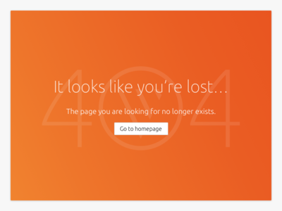 Daily UI challenge #006 — 404 Page components application vanilla page 404 website challenge ui daily