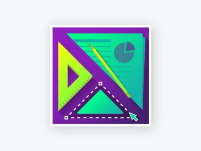 UX Team Sticker