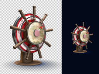 Wheel & Compass icon /redesign