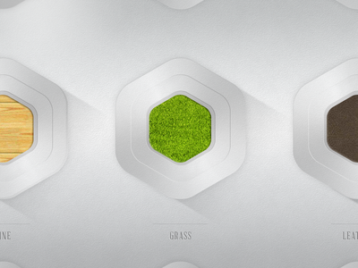 Material sampler ui element design sampler app widget ps