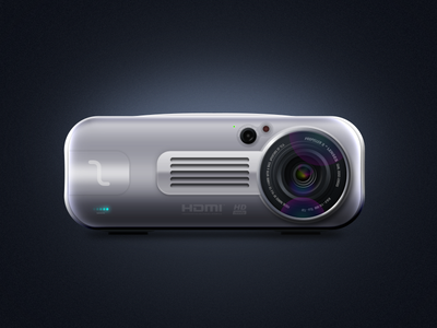 Projector icon ps projector