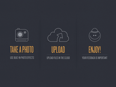 Widget with some tasty icons interface ui ps photoapp icons