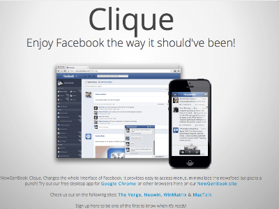 Clique Signups are now open!